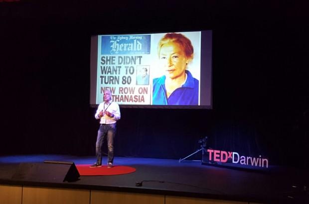Philip Nitschke @ TEDx Darwin 2016