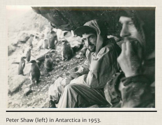 Peter Shaw in the Antarctic