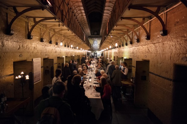 Conference Dinner at Old Melbourne Jail, 22 Sept 2016