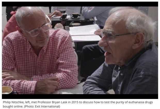 Professor Bryan Lask & Dr Philip Nitschke
