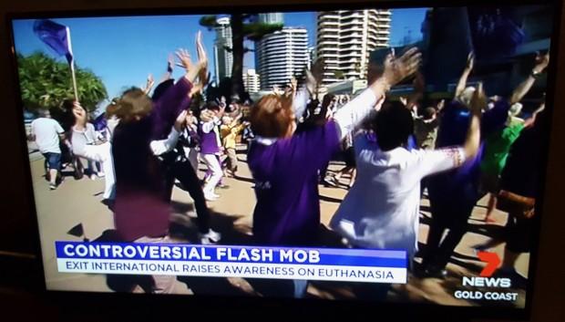 Euthanasia Flashmob 2