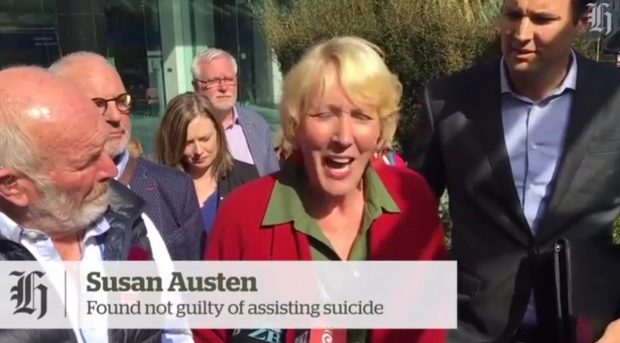 Susan Austen press conference