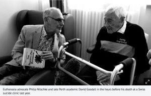 David Goodall Philip Nitschke