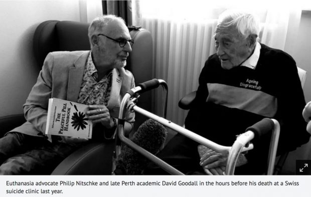 David Goodall Philip Nitschke