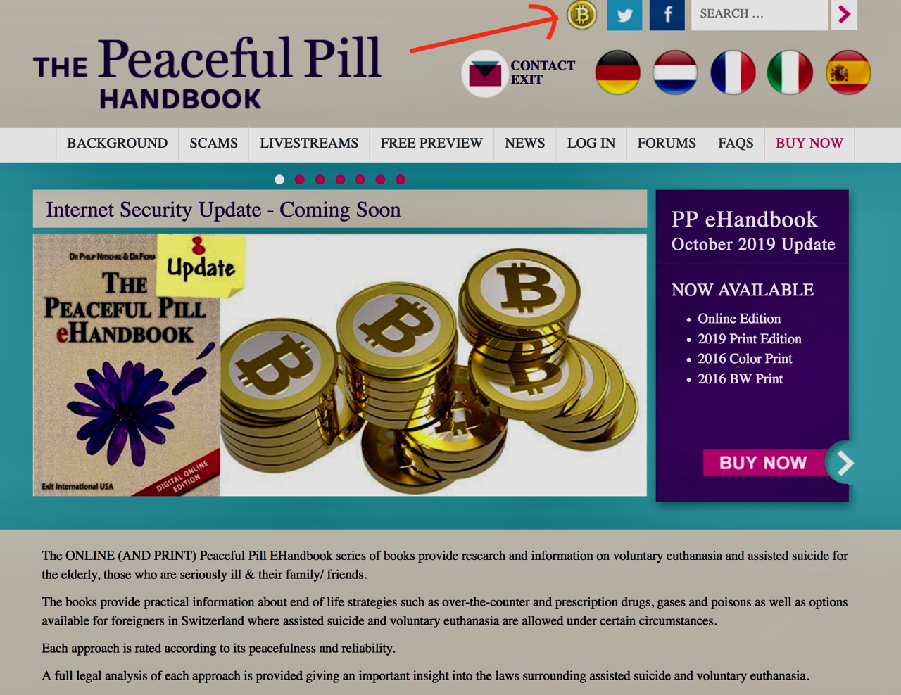 PPH Bitcoin website image