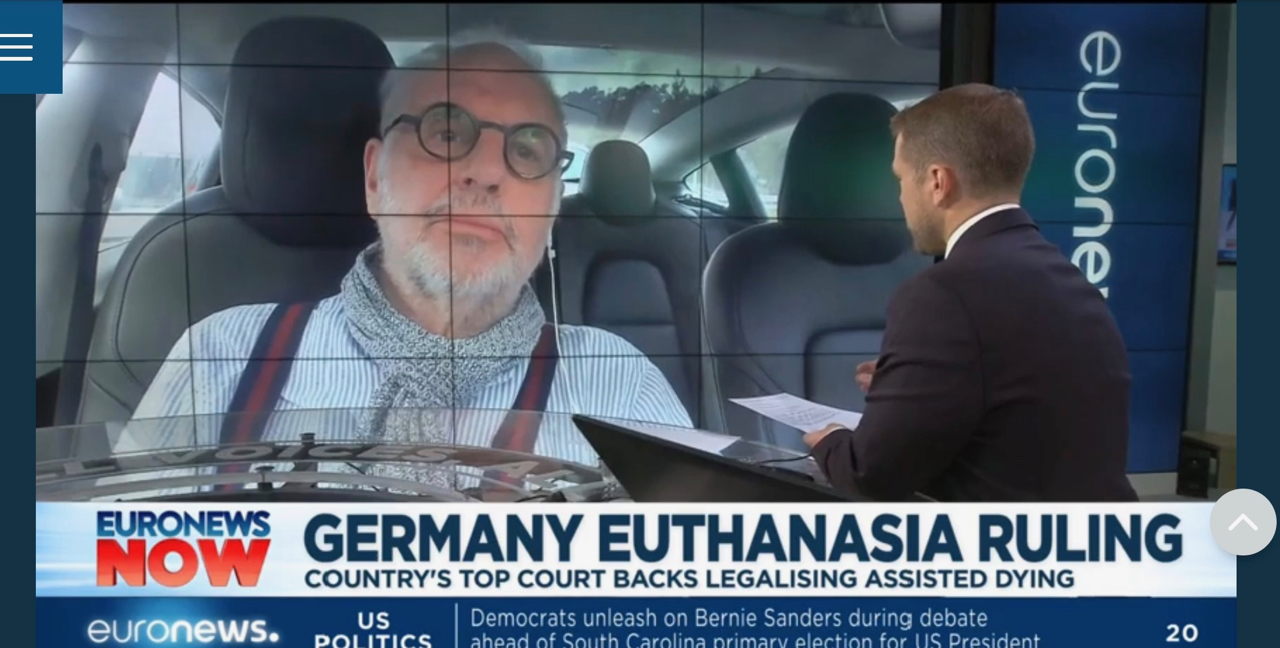 Nitschke on Euro News