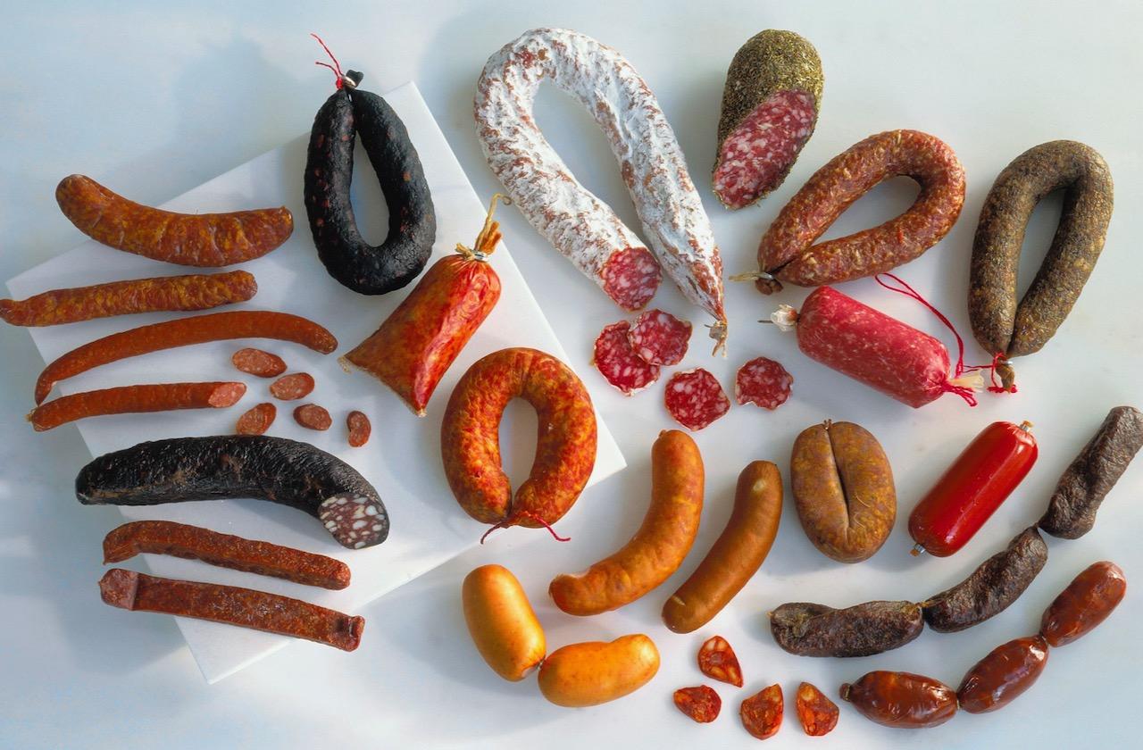 Sodium Nitrite Sausage