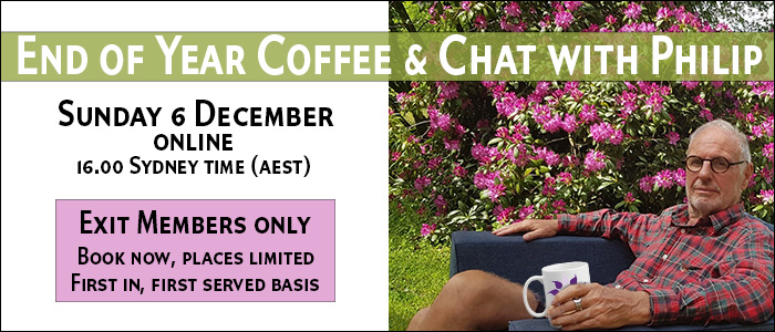 Coffee & Chat with Philip Nitschke