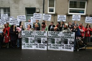 Demonstration against Dublin Workshop, 2011